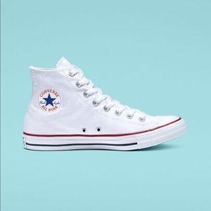 WORN TWICE Converse White Sneakers